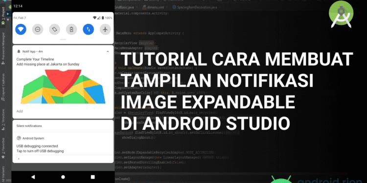 Tutorial Cara Membuat Notifikasi Image di Android Studio
